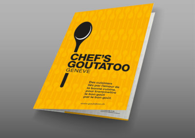 Chef's Goutatoo – Flyer